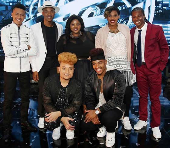 Idols SA Season 12 Top 7 Contestants