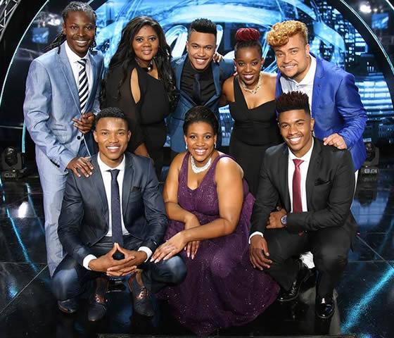 Idols SA Season 12 Top 8 Contestants