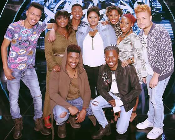 Idols SA Season 12 Top 9 Contestants