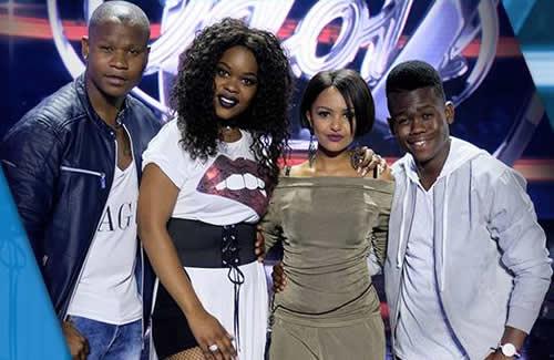 Idols SA Season 13 Top 4 Contestants