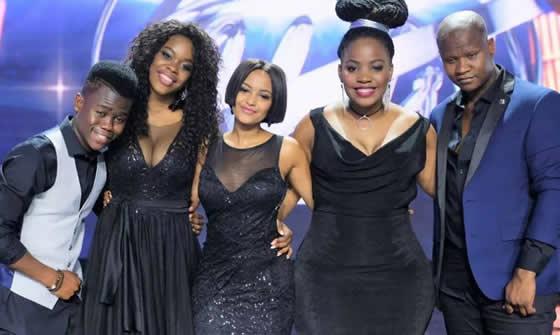 Idols SA Season 13 Top 5 Contestants