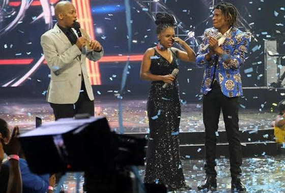 Idols SA Season 14 Grand Finale, Yanga Sobetwa Reacts after being announced as the Winner