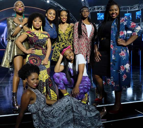 Idols SA Season 14 Top 16 - Female Contestants