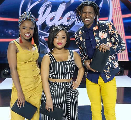 Idols SA Season 14 Top 3 Contestants