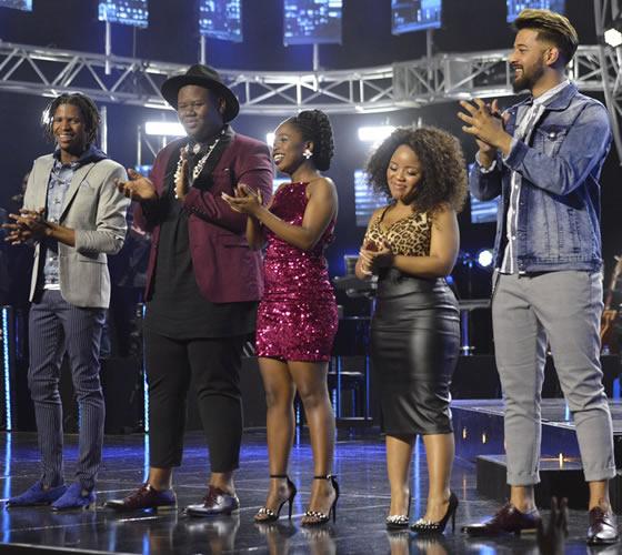 Idols SA Season 14 Top 5 Contestants