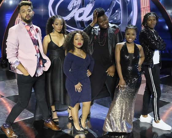 Idols SA Season 14 Top 6 Contestants