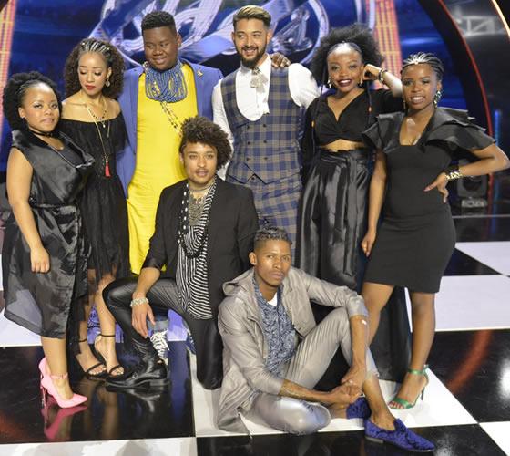 Idols SA Season 14 Top 8 Contestants