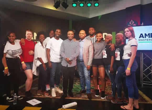 Idols SA Season 15 Top 10 Contestants' Financial Management Masterclass at Old Mutual's AMPD Studios in Newtown Johannesburg.