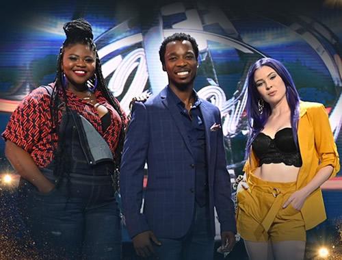 Idols SA Season 15 Top 3 Contestants