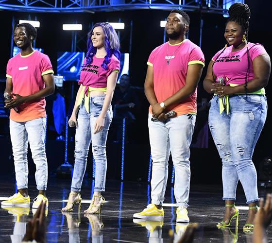 Idols SA Season 15 Top 4 Contestants