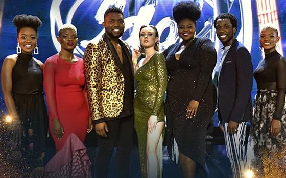 Idols SA Season 15 Top 7 Contestants