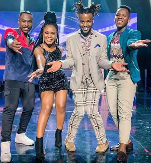 Idols SA Season 16 Top 4 Contestants