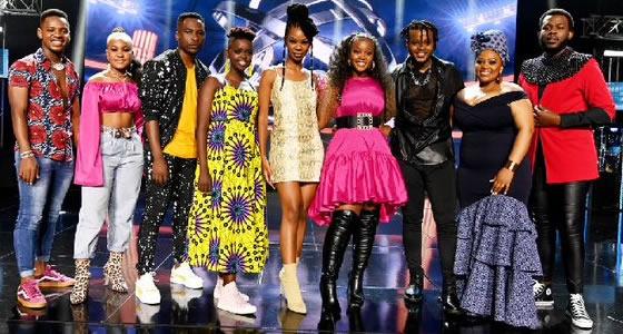 Idols SA Season 16 Top 9 Contestants