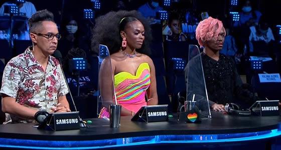 Idols SA Season 16 Judges, Randall Abrahams, Unathi Nkayi and Somizi Mhlongo