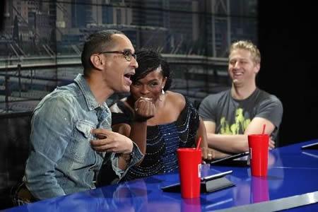 Idols SA Season 8 Judges Randall Abrahams, Unathi Nkayi and Gareth Cliff