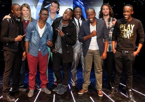 Season 8 Top 18 contestants - Boys