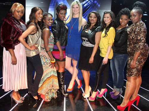 Season 8 Top 18 contestants - Girls