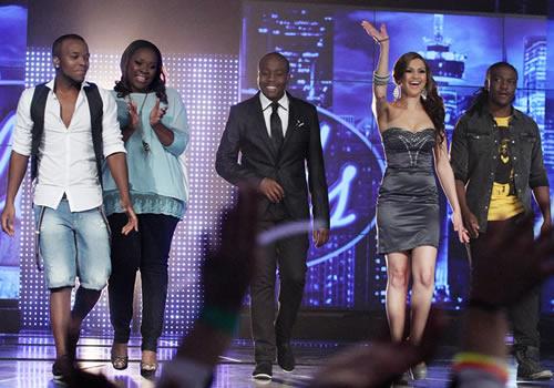 Idols SA Season 8 Top 5 contestants