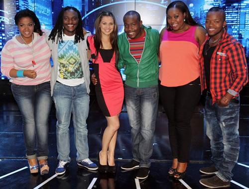 Idols SA Season 8 Top 6 contestants