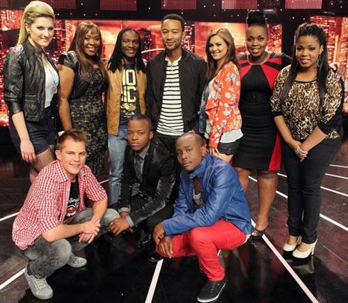 Idols SA Season 8 Top 9 contestants