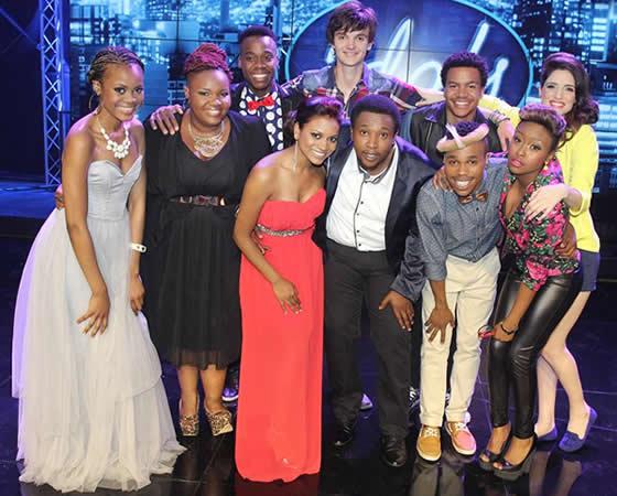 Idols SA Season 9 Top 10 Contestants
