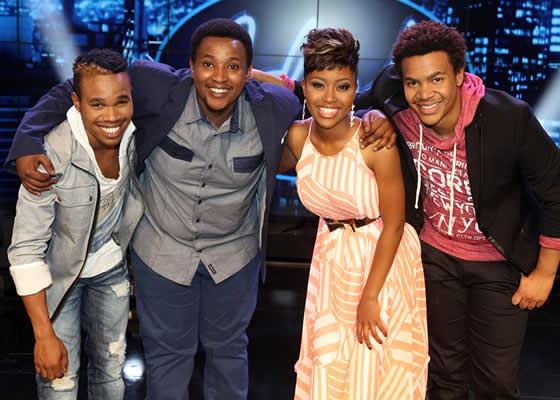 Idols SA Season 9 Top 4 Contestants