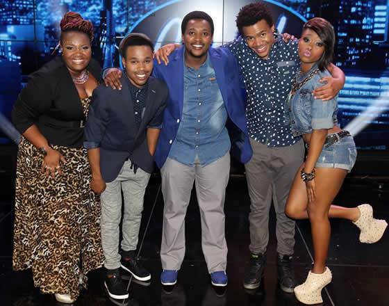 Idols SA Season 9 Top 5 Contestants