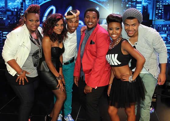 Idols SA Season 9 Top 6 Contestants