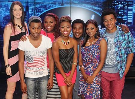 Idols SA Season 9 Top 7 Contestants