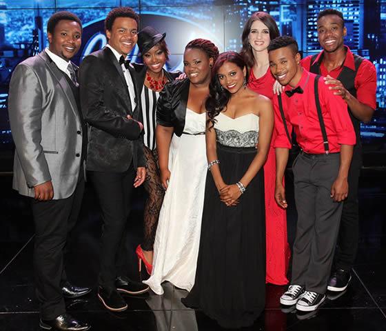 Idols SA Season 9 Top 8 Contestants