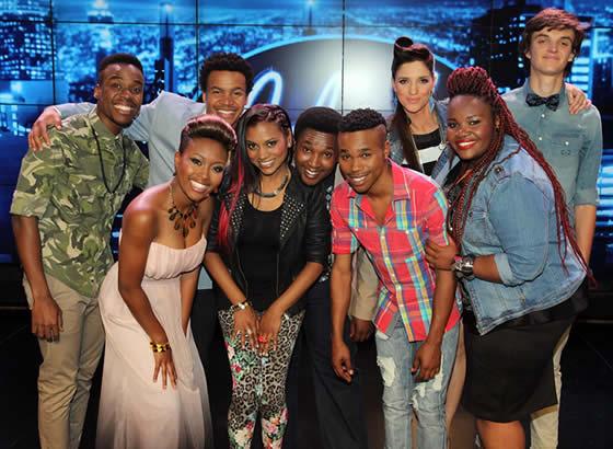Idols SA Season 9 Top 9 Contestants