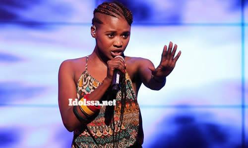 Thabisa Mhlakulwana, Idols SA Season 8 Top 18 Contestant