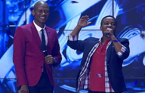 Vincent Bones after being announced as the Idols SA Season 10 Winner