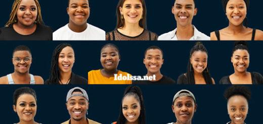 Idols SA 2021 'Season 17' Top 16 Contestants