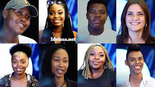 Idols SA 2021 'Season 17' Top 16 Group A Voting Numbers
