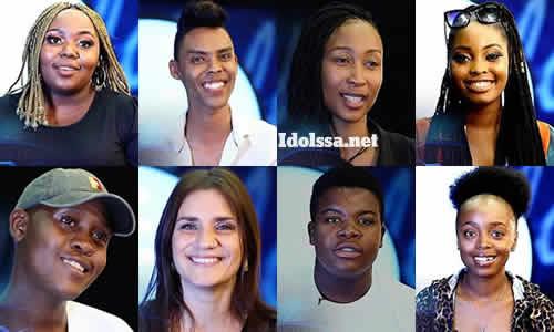 Idols SA 2021 'Season 17' Top 16 Group A Song Choice