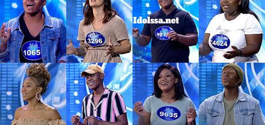 Idols SA 2021 Season 17 Golden Ticket Winners