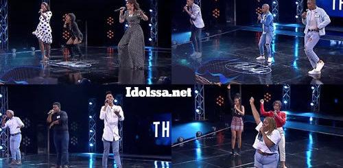 Idols SA 2021 'Season 17' Theatre Week Group Performances