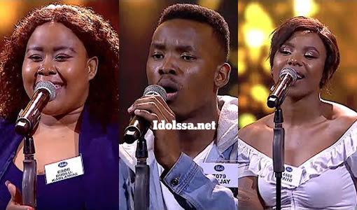 Idols SA 2021 'Season 17' Theatre Week Solo Performances