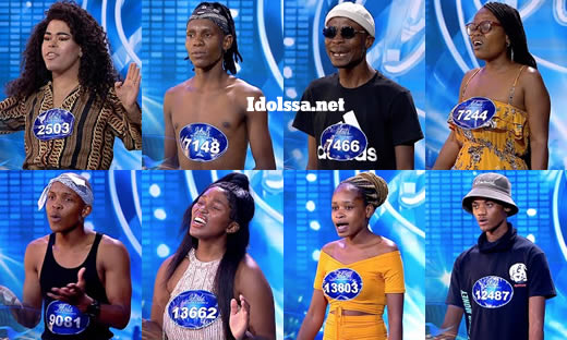 Idols SA 2021 Season 17 wooden mic contestants