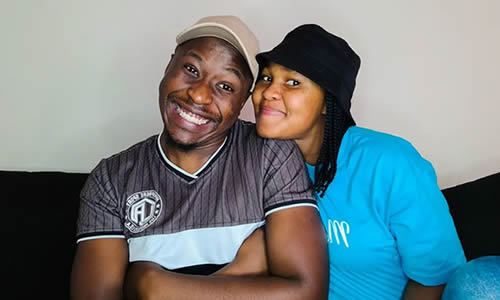 Brandon Dhludhlu writes lovely birthday message to his girlfriend, Zama Khumalo