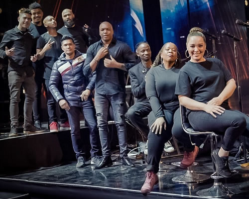 Idols SA 2021 Vocal coaches, supporting vocalists and band members