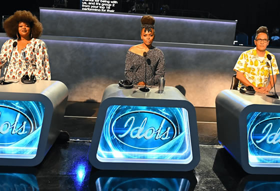 Idols SA 2021 'Season 17' judges episode 9 - Buhle Mda, Unathi Nkayi and Randall Abrahams